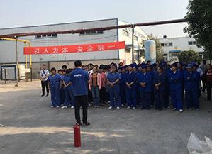 大奖娱乐88pt88官网_赴瑞龙制药开展消防知识培训与消防安全演练活动